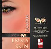 *** rojo *** Emma - Slink Visage Head/eyebrows Applier Golden