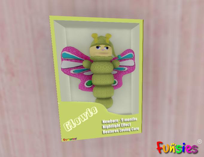 FUNSIES IntelliGrow Glowie with Wings Toy
