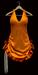 Marilyn orange velour copie