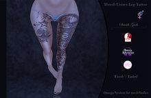 Suicide Gurls - Thresh Unisex Leg Tattoo V2