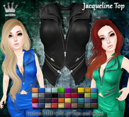 [Syn] Jacqueline Top (Texture HUD, fitted mesh, materials enabled)
