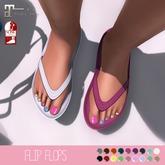 {MYNX} Flip Flops - Solid Colors (Maitreya/ Slink)