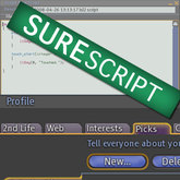 SureScript Profile Picks Finder - NOW COMPATIBLE WITH VIEWER 2.1 WEB CHANGES (update AUG 10')