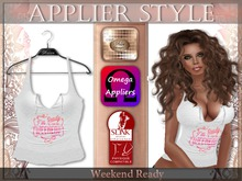 {SD} WEEKEND READY TOP - PINK (Omega & Slink Appliers)