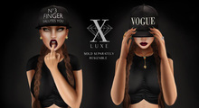 LUXE. Vogue Snapback
