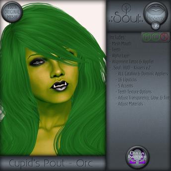 .:Soul:. Kissers - Cupid's Pout - Orc