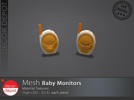 [DD] - FULL PERM  Monitores de Bebé