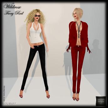 SAS - Wildrose FieryRed Outfit (Mesh + Omega)