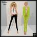 SAS - Wildrose Lime Outfit (Mesh + Omega)