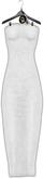 -Unbothered- Slip Dress (White)