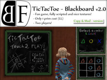 BF - Tic Tac Toe - Mesh Deluxe (CM)