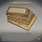 :: N :: Arts & Crafts Area Rugs, Set One
