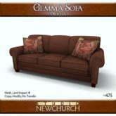 :: N :: Gemma Chair - Caramel (1.0)