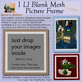 GATOR'S GALLERY 1LI picture frame slideshow 100% MESH (creative commons script) Yes Copy