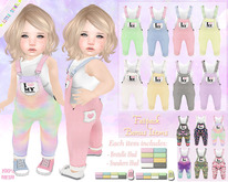 * {.:Little Stars.:} * Love Mommy Overall {Pink}