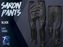 Saron Pants Black - ZK