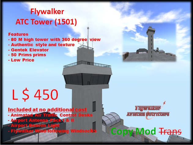Flywalker 1501 ATC Tower (Boxed)