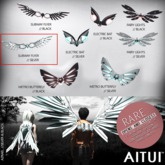 AITUI - Mechanical Wings - Subway Flyer, Silver