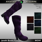 AB Jareth Boots with Color HUD FEMALE