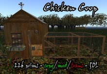 Chicken Coop (BOXED)