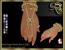 RJ Empire Handchains - Gold (boxed)