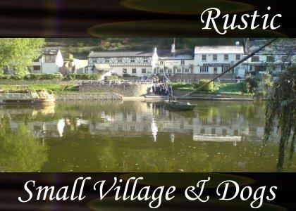 Atmo-Rustic - Small Village & Dogs 1:50