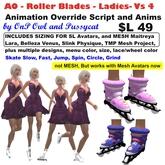 OnP AO Ladies Roller Blades