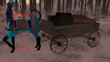 {{P.I.D&D}} Centaur Logging Wagon