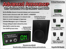 Advanced Announcer - Club Announcer, Chat Extender, and PA System in One