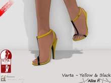 Alice P. - Varta yellow-black (Slink & Maitreya)