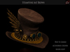 ! [NW] Brown Steampunk Hat