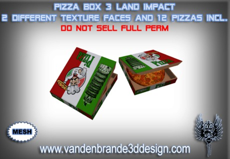 ~Full perm MESH pizza + 12 Pizzas included