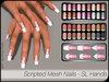 - MPP Mesh - Scripted Nails - SL Regular Hands