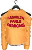 .:villena:. - crop sweatshirt mustard