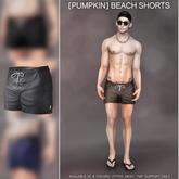 [Pumpkin]: TMP- Beach shorts: Grey- Demo