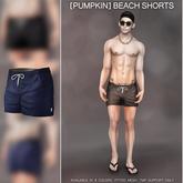 [Pumpkin]: TMP- Beach shorts: Blue