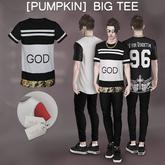 [Pumpkin] Big tee- GOD