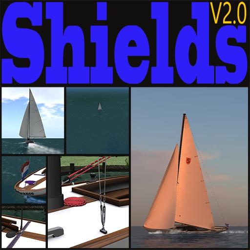 Shields Class sailboat V2