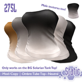 ::Static:: Solarian Ombre Tank Top - Neutral Pack