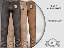 Daniel Grant Quint Chino Pants ''Pack Brown''