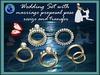 [SuXue] WEDDING RING JASMINE DIAMONDS GOLD