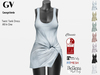 GV Full Perm  Twisted Tank Dress Classic+FitMesh+Slink+Maitreya+Belleza+7 Textures