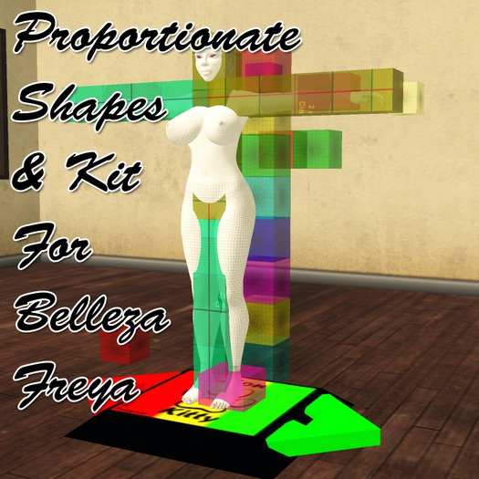 FREE Belleza Freya Proportionate Shapes And Physics Kit