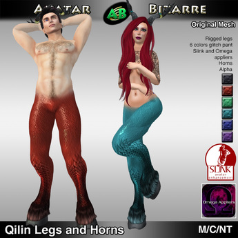 AB Qilin Legs with color HUD