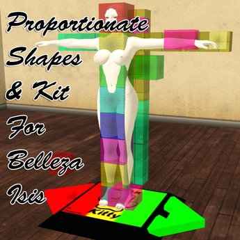 FREE Belleza Isis Proportionate Shapes And Physics Kit