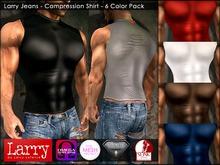 LARRY JEANS - Compression Shirt - 6 COLOR PACK