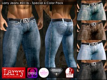 LARRY JEANS - Jeans 011b - SPECIAL 6 COLOR PACK