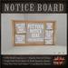 Pin Notice Message Board