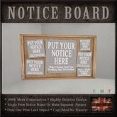 Pin Notice Message Board