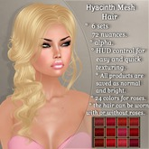 !SOUL  - HAIR Mesh - Hyacinth - 12 Nuances -  Red Set 1